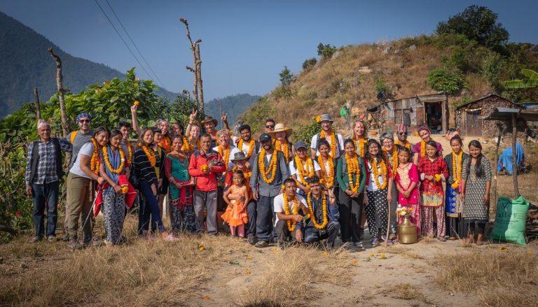 Leadership walks in Nepal