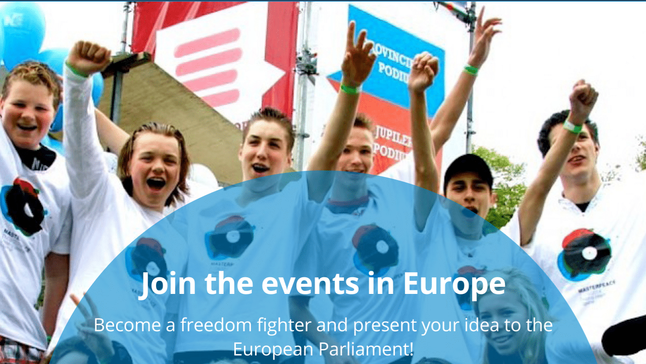Europe: 1200 youngsters ACT for Liberty