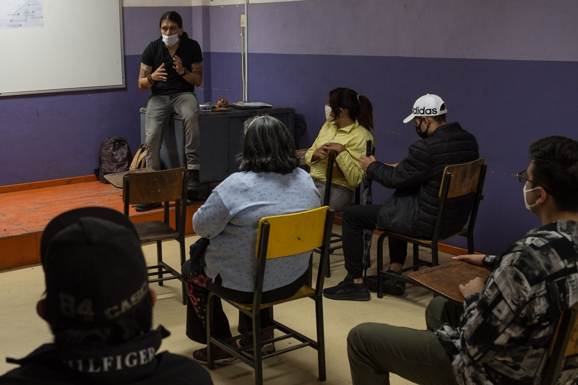 Mexico: Herman Miller Cares supports the Peace Neighborhoods program