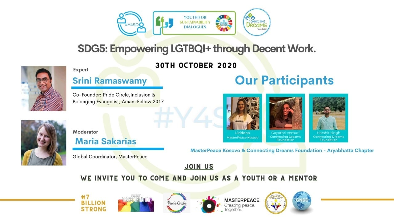 SDG5: Empowering LGTBQI+ through Decent Work