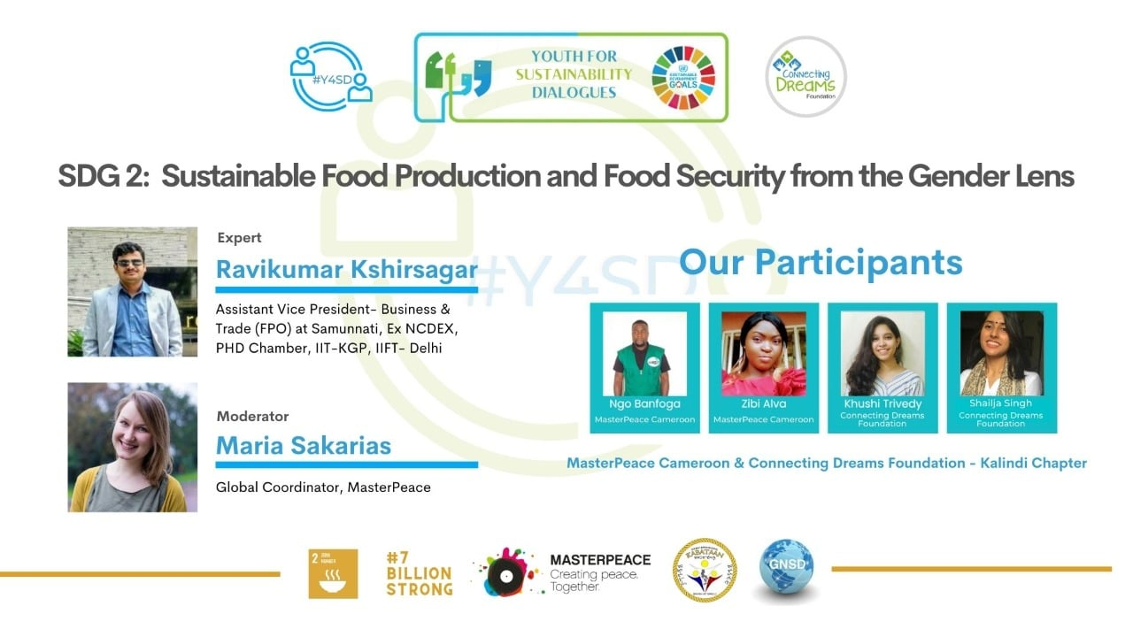 SDG2: Sustainable Food Production and Food Security from the gender lens