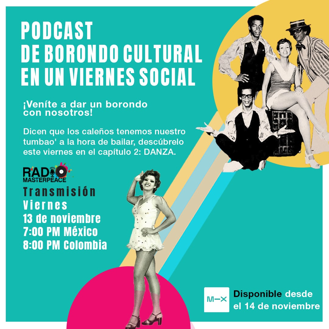 MasterPeace Cali, Bogotá and Mexico are granted by the Secretariat of Culture of Cali to create a podcast