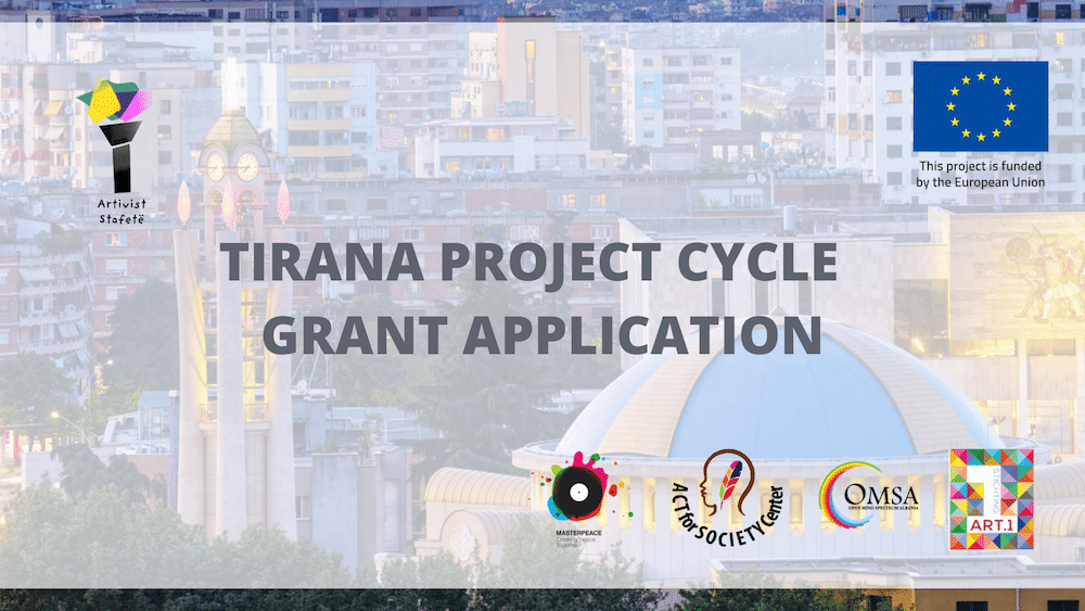 Open Call- Tirana Project Cycle