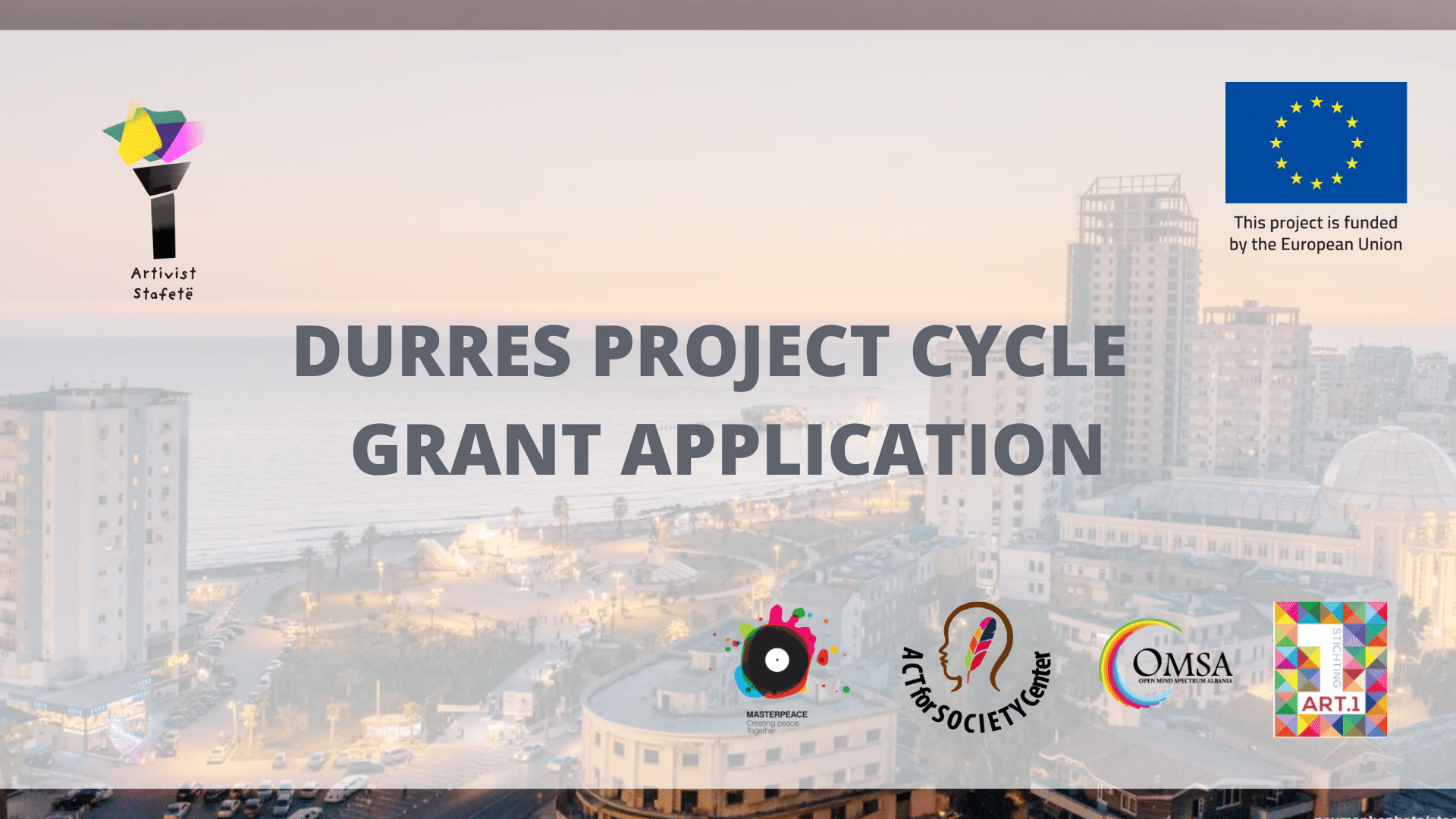 Open Call – Durres Project Cycle